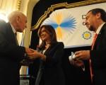 Cristina Fernández de Kirchner entregó el premio Houssay 2009