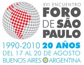 El FSP es un foro de partidos y grupos de izquierda latinoamericanos que trabaja desde 1990.