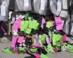 Los pies simbólicos de la protesta