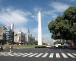 El obelisco, un capital porteño.