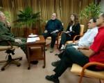Fidel, durante la entrevista.