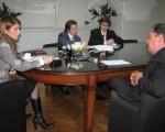 Débora Giorgi, se reunió con José Martinez,representante para América Latina de Nokia,