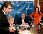 Parrilli y Cerruti chocaron contra Ritondo del bloque oficialista.