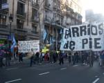 La agrupación marchará para reclamar la finalización del Hospital de Lugano.
