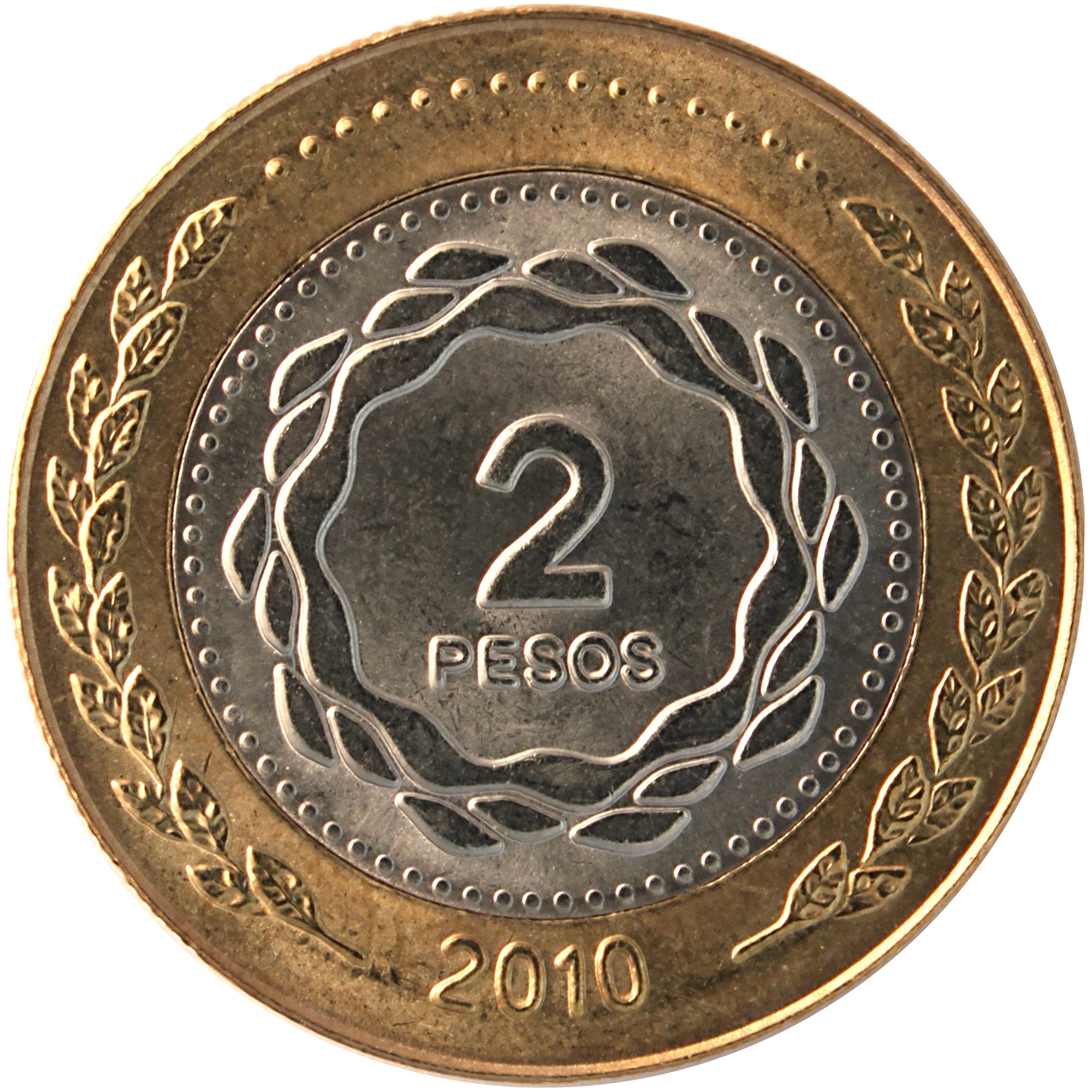 Resultado de imagen para moneda dos pesos