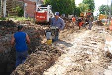 Los vecinos piden las obras para evitar inundaciones.