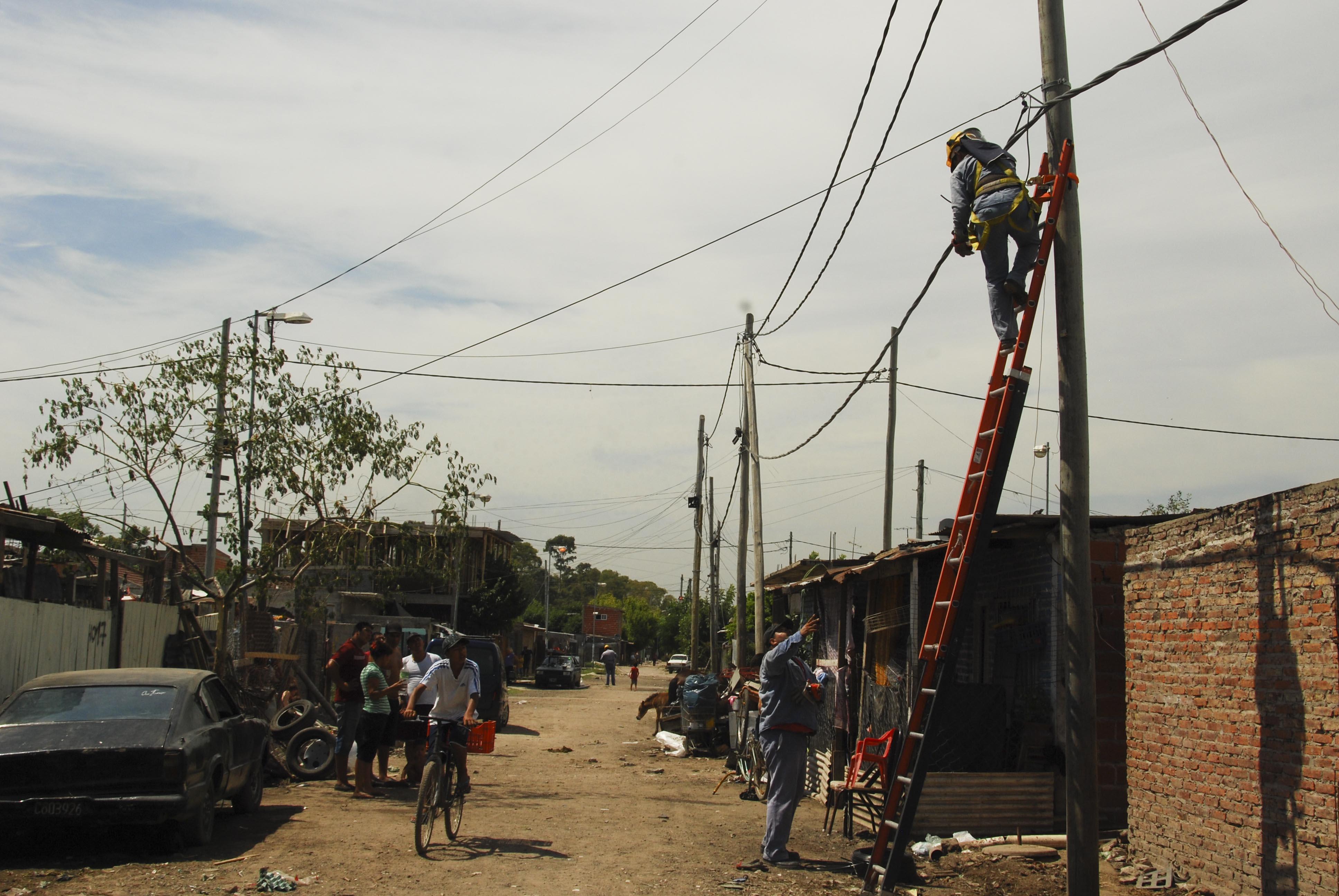 Las obras de conexión ya finalizaron en El Ceibo donde se colocaron 149 medidores.