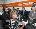 Reunión estatales y docentes bonaerenses por las paritarias.