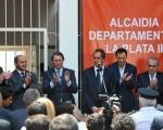 Scioli al inaugurar la séptima Alcaidía Departamental que se pone en marcha en territorio provincial.