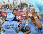 En una ceremonia multitudinaria, realizada en el Polideportivo Domingo Faustino Sarmiento, más de 35.000 chicos coronaron con una muestra deportiva.