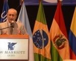 Puricelli reiteró su agradecimiento a la región por la causa Malvinas.