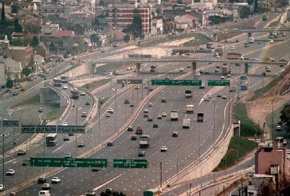 Se iniciaron las obras en general paz y los accesos norte for Benetton quedara autopista panamericana acceso oeste