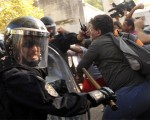 Vidal justificó la represión de la Metropolitana en el Borda.