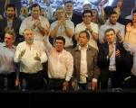 El peronismo oficialista celebró el Día de la Lealtad con la presencia de cuatro precandidatos presidenciales para 2015.