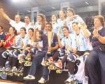 La selección argentina es la más ganadora en la historia de los mundiales femenino de la especialidad.