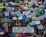 Se acrecientan las movilizaciones en todo el territorio brasilero.