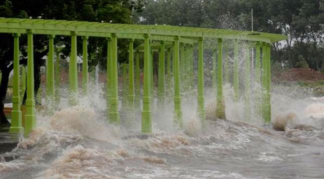 servicio meteorologico en la costa: