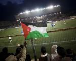 Partido de fútbol en Palestina.