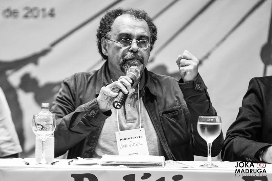 Igor Fuse, importante académico brasilero, periodista, Máster en Relaciones Internacionales y docente de la Universidad Federal ABD de Santo André.