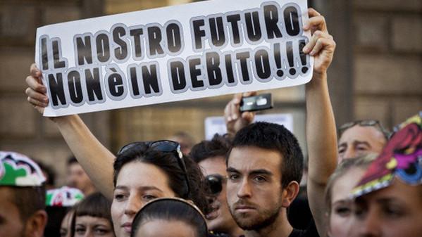 Las similitudes de las crisis de Italia con la Argentina del 2001.