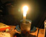 Vecinos sin luz en Recoleta.