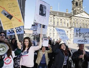 macri-protesta-holanda