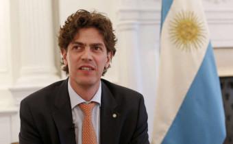 Foto Adriana Groisman. Embajador argentino en EEUU, Martín Lousteau, abre la puerta a inversiones extranjeras.  Nueva York 22 de abril 2016.