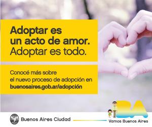 BA Adoptar es un acto de amor