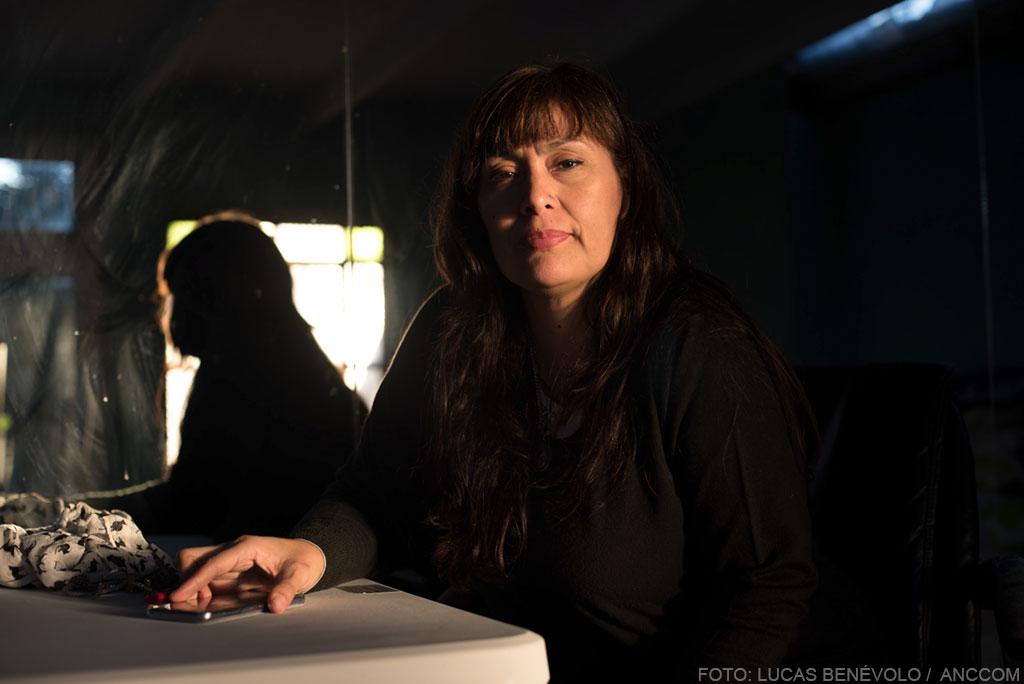 VILLA LA CAVA. Entrevista a Fernanda Miño-   Buenos Aires, 28 de juniode 2018. Fotos de Lucas Benevolo/ ANCCOM
